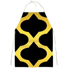 Seamless Gold Pattern Full Print Aprons