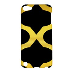 Seamless Gold Pattern Apple Ipod Touch 5 Hardshell Case by Amaryn4rt