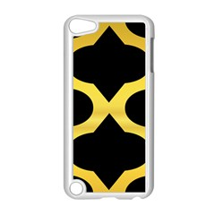 Seamless Gold Pattern Apple Ipod Touch 5 Case (white) by Amaryn4rt