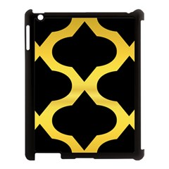 Seamless Gold Pattern Apple Ipad 3/4 Case (black) by Amaryn4rt