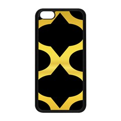 Seamless Gold Pattern Apple Iphone 5c Seamless Case (black) by Amaryn4rt