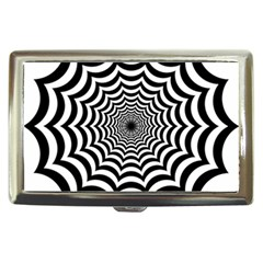 Spider Web Hypnotic Cigarette Money Cases by Amaryn4rt