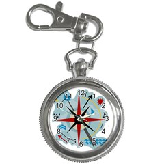 Navigation Key Chain Watches