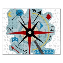 Navigation Rectangular Jigsaw Puzzl by Valentinaart