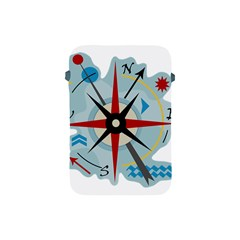 Navigation Apple Ipad Mini Protective Soft Cases by Valentinaart