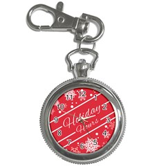 Winter Holiday Hours Key Chain Watches by Amaryn4rt