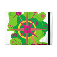 Green Navigation Ipad Mini 2 Flip Cases by Valentinaart