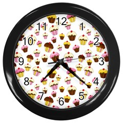 Eat Me Wall Clocks (black) by Valentinaart