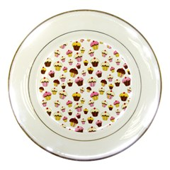 Eat Me Porcelain Plates by Valentinaart
