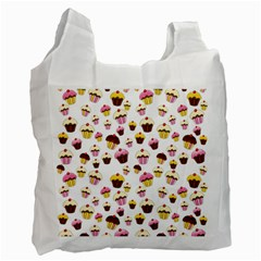 Eat Me Recycle Bag (one Side) by Valentinaart