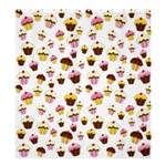 Eat me Shower Curtain 66  x 72  (Large)  58.75 x64.8  Curtain