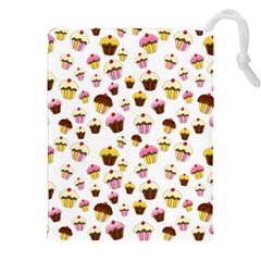 Eat Me Drawstring Pouches (xxl) by Valentinaart