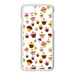Eat Me Apple Iphone 7 Seamless Case (white) by Valentinaart