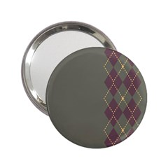 Minimalism Grey Background 2 25  Handbag Mirrors