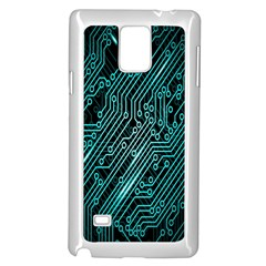Magnet Element Samsung Galaxy Note 4 Case (white)