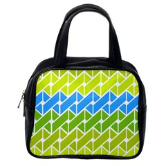 Link Pattern Classic Handbags (one Side)