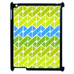 Link Pattern Apple Ipad 2 Case (black)
