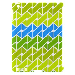 Link Pattern Apple Ipad 3/4 Hardshell Case (compatible With Smart Cover) by AnjaniArt