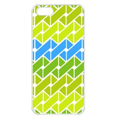 Link Pattern Apple Iphone 5 Seamless Case (white)