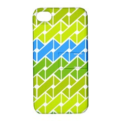 Link Pattern Apple Iphone 4/4s Hardshell Case With Stand by AnjaniArt