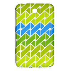 Link Pattern Samsung Galaxy Tab 3 (7 ) P3200 Hardshell Case  by AnjaniArt