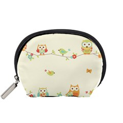 Owl Butterfly Bird Accessory Pouches (small)