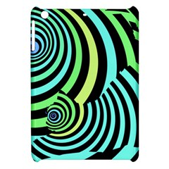 Optical Illusions Checkered Basic Optical Bending Pictures Cat Apple Ipad Mini Hardshell Case by AnjaniArt