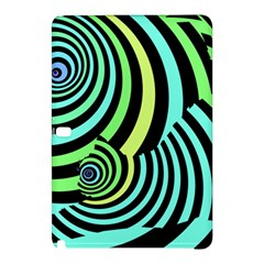 Optical Illusions Checkered Basic Optical Bending Pictures Cat Samsung Galaxy Tab Pro 12 2 Hardshell Case by AnjaniArt