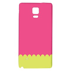 Pink Yellow Galaxy Note 4 Back Case by AnjaniArt