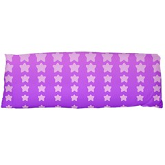 Purple And Pink Stars Body Pillow Case (dakimakura)