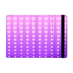 Purple And Pink Stars Apple Ipad Mini Flip Case
