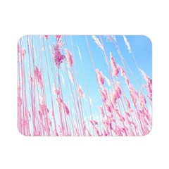 Pink Colour Double Sided Flano Blanket (mini)