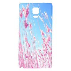 Pink Colour Galaxy Note 4 Back Case by AnjaniArt