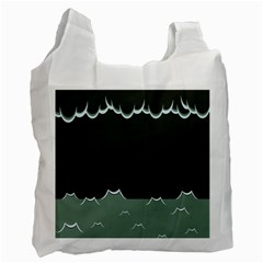 Rain Cloudy Sky Recycle Bag (one Side)