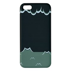 Rain Cloudy Sky Iphone 5s/ Se Premium Hardshell Case by AnjaniArt