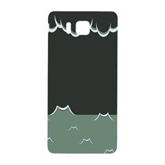 Rain Cloudy Sky Samsung Galaxy Alpha Hardshell Back Case