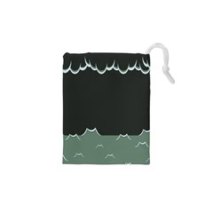 Rain Cloudy Sky Drawstring Pouches (xs)  by AnjaniArt