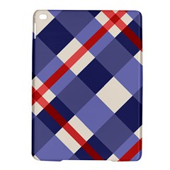 Red And Purple Plaid Ipad Air 2 Hardshell Cases by AnjaniArt