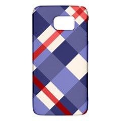 Red And Purple Plaid Galaxy S6