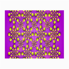 Purple Optical Illusion Wallpaper Small Glasses Cloth (2 Side)