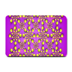 Purple Optical Illusion Wallpaper Small Doormat