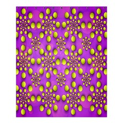 Purple Optical Illusion Wallpaper Shower Curtain 60  X 72  (medium)  by AnjaniArt