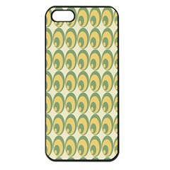 Pattern Circle Green Yellow Apple Iphone 5 Seamless Case (black) by AnjaniArt