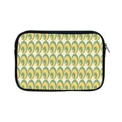 Pattern Circle Green Yellow Apple Ipad Mini Zipper Cases