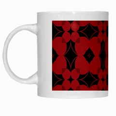 Redtree Flower Red White Mugs by AnjaniArt