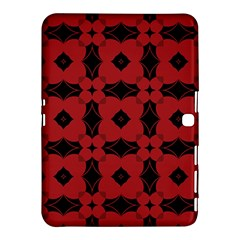 Redtree Flower Red Samsung Galaxy Tab 4 (10 1 ) Hardshell Case  by AnjaniArt