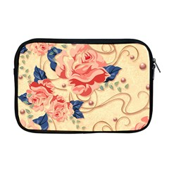 Beautiful Pink Roses  Apple Macbook Pro 17  Zipper Case by Brittlevirginclothing
