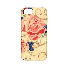 Beautiful Pink Roses Apple Iphone 5 Classic Hardshell Case (pc+silicone)