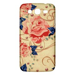 Beautiful Pink Roses Samsung Galaxy Mega 5 8 I9152 Hardshell Case