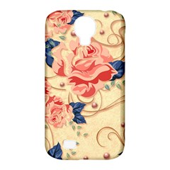 Beautiful Pink Roses Samsung Galaxy S4 Classic Hardshell Case (pc+silicone) by Brittlevirginclothing